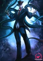 Slenderman by AmosRachman