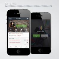 MusicMii iphone app by DenisYakovlev
