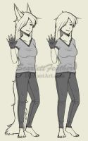 .Sketch. Human Vicious Concept by ScarlettFeather
