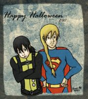 Halloween 2011 - Leandros boys by Marlin-Rae