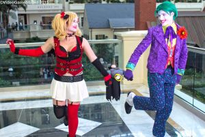 Katsucon 2015 - Jester and Clown(PS) 04 by VideoGameStupid