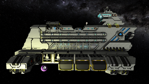 CIF Freighter side (Refit) by Dimcreaper