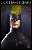 Gotham freaks batman by saadirfan
