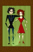 Tim and Helena by MyntKat