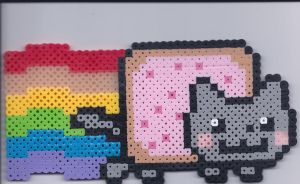 Nyan cat!! by Gossamier