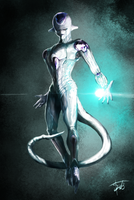 Frieza (final form) by Tabbancs