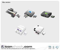 Consoles Web Icons by Iconshock