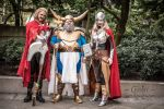 Asgardians cosplay by vandersnark