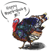 GOBBLE GOBBLE GOBBLE GOBBLE GOBBLE GOBBLE GOBBLE by gniao