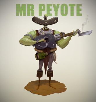 MR PEYOTE by Niconoff
