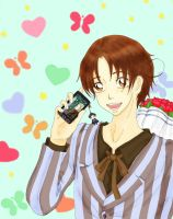APH Italy's cell-phone by Heiwa91