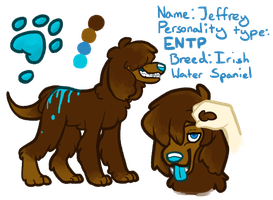 TheSolitarySandpiper Dog Design Contest Entry by ThisAccountIsDead462