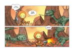 Alive on Planet X page 10 by MetalSnail