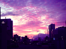 A shade of pinkish purple by UkuleleOVERSOUL