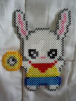 White Rabbit by PerlerHime