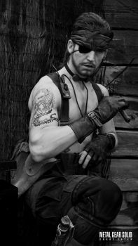 Metal Gear - Naked Snake and a brother's Tattoo by RBF-productions-NL