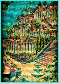 The Hanging Gardens of Babylon by Feather802