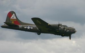 B17G PINK LADY over head by Sceptre63