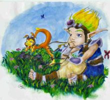 Jak and Daxter- Innocence by Icequeenkitty