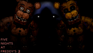 FNaF 2 Wallpaper - Ready for Freddys? by PeterPack