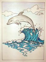 Dolphin by Chartreuesfreak