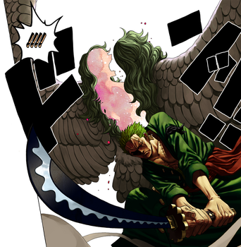 One Piece Ch.678 Zoro by Hari-Jizo