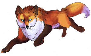 request - Red Fox by IzaPug