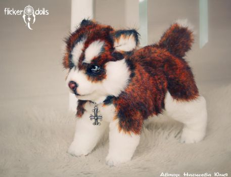 Nord (Red Husky puppy) by Flicker-Dolls
