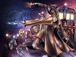 The Tenth Doctor by junobean