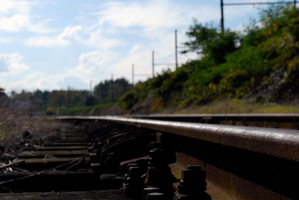 Railway Close-up by creativecircle