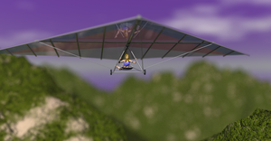 Hang Gliding - Take 2 by LionkingCMSL