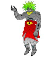 Metal Broly by 3D-DBAF