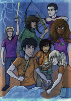The Heroes Of Olympus by Deesney