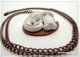 Falcor Nacklace - Neverending story by buzhandmade