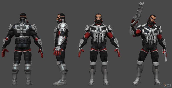Punisher 2099 CoC by SSingh511