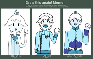 Before and after meme by Ask-Snow-Prince
