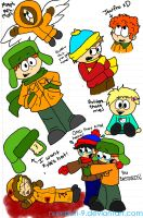 SOUTH PARK SCIENCE DOODLES by Numbuh-9