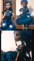 MH CD: New dress for Quorra by SpicePrincess