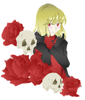 Commish - Death and Roses by MadHattersPassion