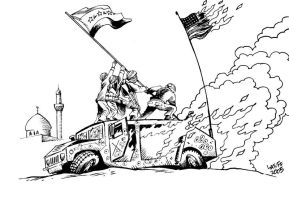 Mount Suribachi revisited 2 by Latuff2