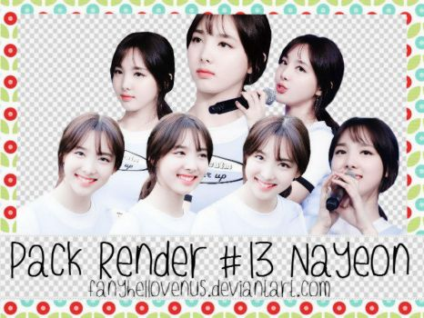 Pack Render#13 NAYEON by fanyhellovenus