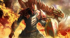 Dragon Knight DOTA 2 by longai