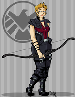 Hawkeye by labrattish