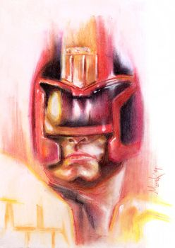 Judge Dredd Pencils by markhossain