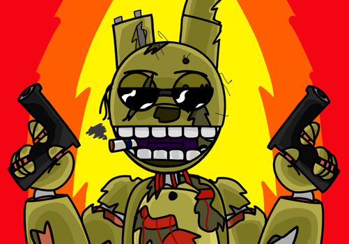 FNAF - Springlocked and Loaded by Jugass