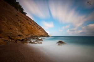 Secluded Cove Long Exposure by Creative--Dragon