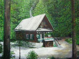 Iztokova cottage by renatoart