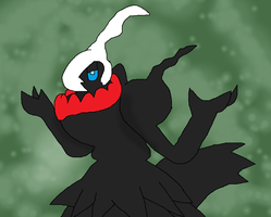 Darkrai Shrug by LukeTheeMewtwo