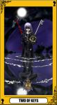 KH Tarot: Two of Keys by way2thedawn