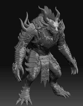 Pyre Zbrush by Snookiedowork